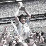 Maradona, Tangan Tuhan Kembali ke Tuhan