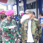 Pjs Wali Kota Jadi Irup Upacara Pembukaan Bakti Sosial Peringati 75 Tahun Korps Marinir