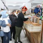 Tinjau Vaksinasi Covid 19, Wali Kota Medan Prioritaskan Pedagang Pasar