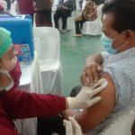 Sejumlah Tenaga Didik di Binjai Jalani Vaksinasi Tahap Pertama
